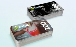 Voucher kwotowy, karta podarunkowa lub inaczej karta lojalnościowa dla klubu sportowego Atletic w Siedlcach