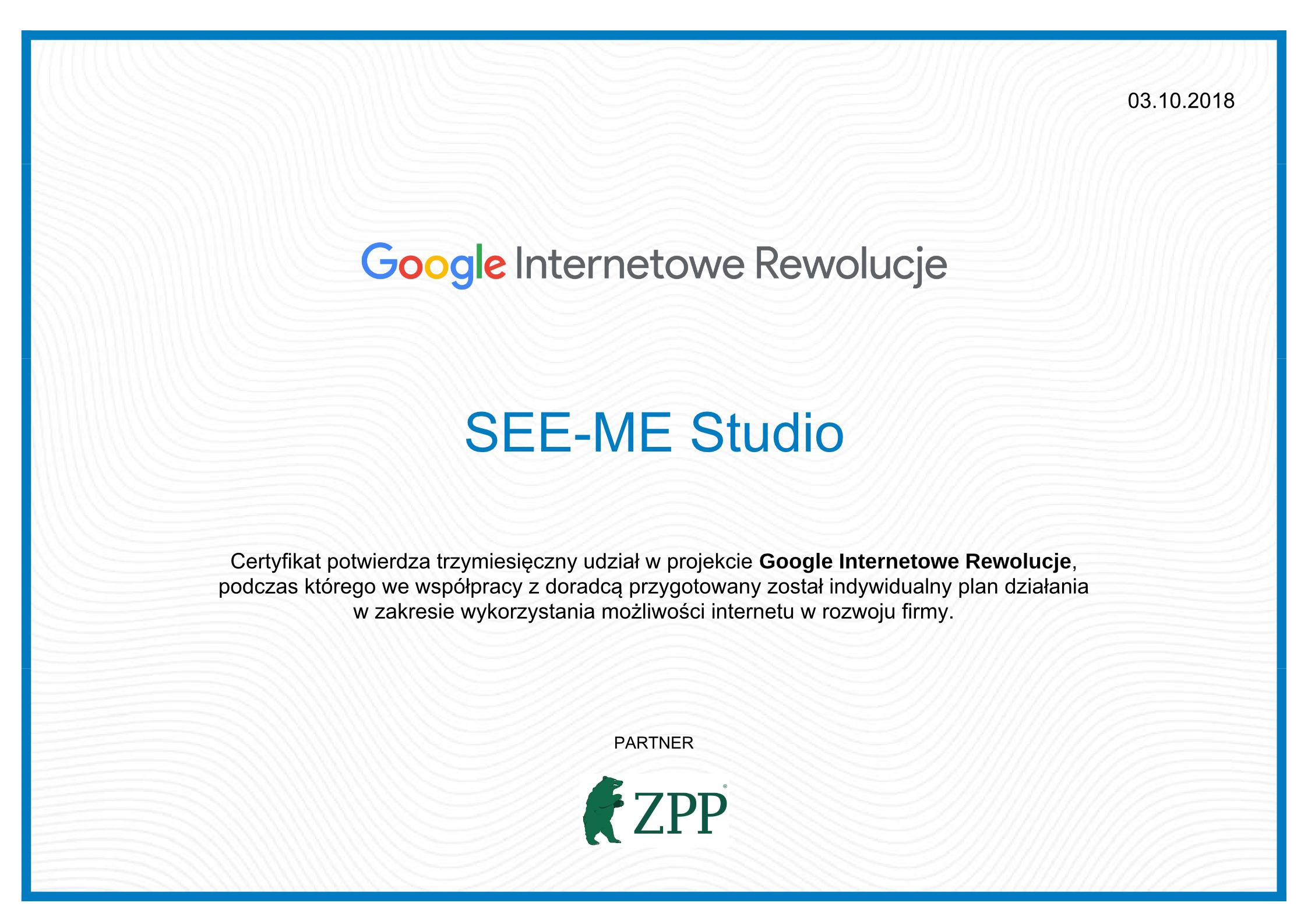 Internetowe Rewolucje | Tworzenie stron | SEE-ME