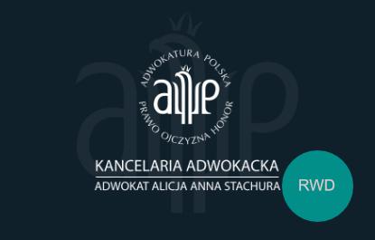 Adwokat Alicja Stachura okładka